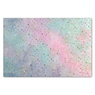 fairy tale faux sparkling fabric tissue paper