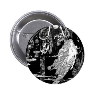 Fairy Tale - Illustration 6 6 Cm Round Badge