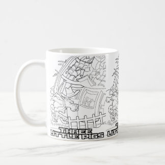 Fairy tale mug Three Little Pigs