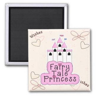 Fairy Tale Princess Castle Design Magnet