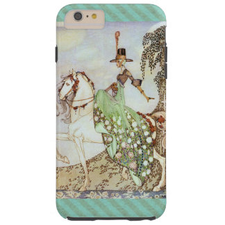 Fairy Tale Princess Riding a White Horse Tough iPhone 6 Plus Case