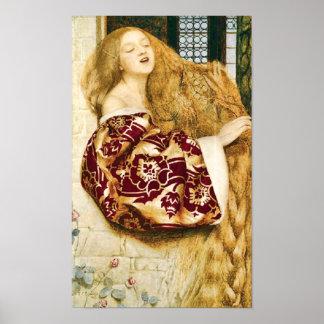 Fairy Tale Rapunzel Fine Art Print