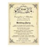 Fairy Tale Storybook Wedding Programs Custom Announcements
