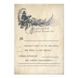Fairy tale Wedding RSVP cards