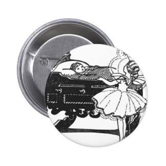 fairy-tales 6 cm round badge