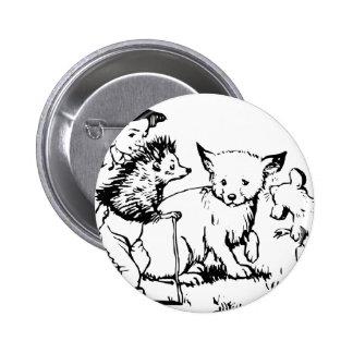 fairy-tales- 6 cm round badge