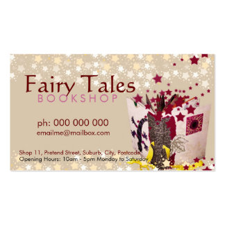 Fairy Tales & Stars Bookshop Business Card