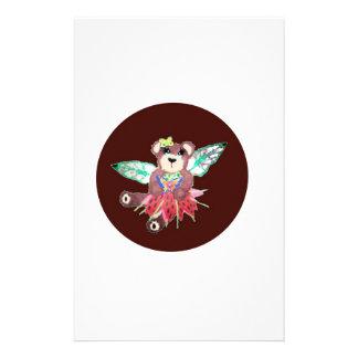 Fairy tear bear custom stationery