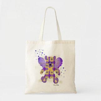 Fairy Teddy Bear tote bag