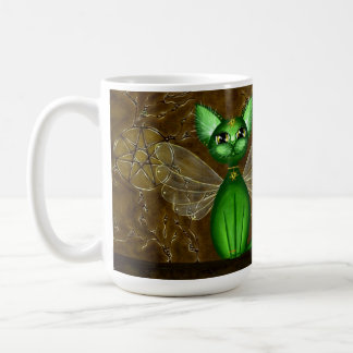 Fairy Temple, Fantasy Fairy Kitty Coffee Muff Coffee Mug