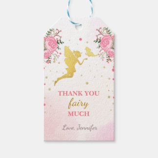 Fairy thank you tags Butterfly Magical Birthday