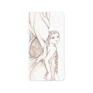 Fairy Tree Address Label