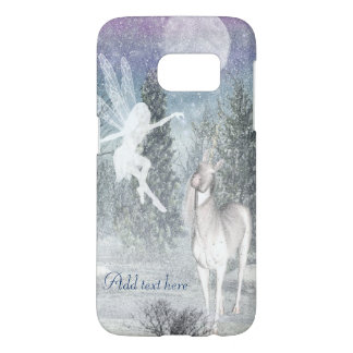 Fairy unicorn friends Samsung Galaxy S7 case