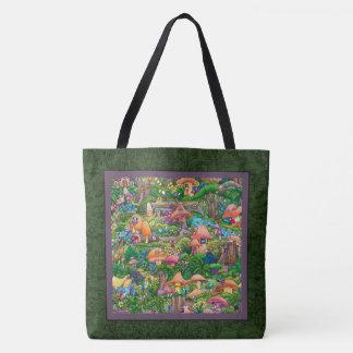 """Fairy Village"" — Tote Bag, Large"