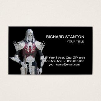 Fairy warrior business card