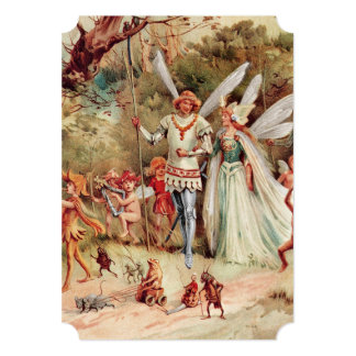 Fairy Wedding Card