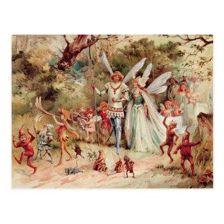 Fairy Wedding Postcard