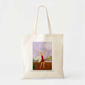 """Fairy Wishes"" Canvas Tote"