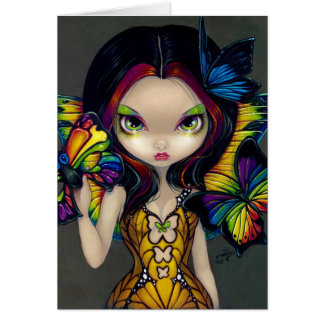 """""""Fairy with a Butterfly Mask"""" Greeting Card"""