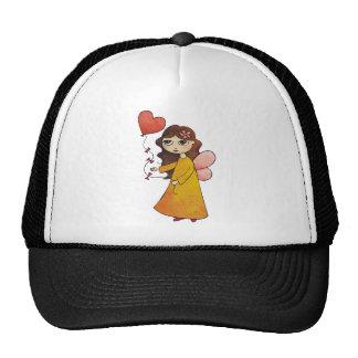 Fairy with Heart Balloon Trucker Hat
