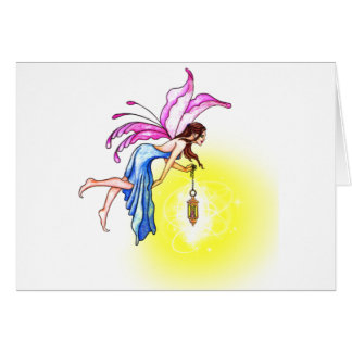 Fairy with Lantern Cards