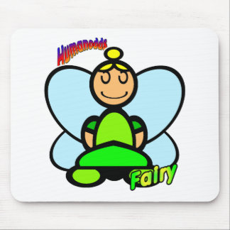 Fairy (with logos) mouse pad