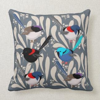 Fairy Wrens Cushion