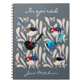 Fairy Wrens Notebooks