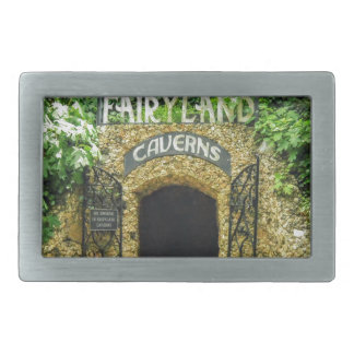 Fairyland Caverns Nature Photography Rectangular Belt Buckle