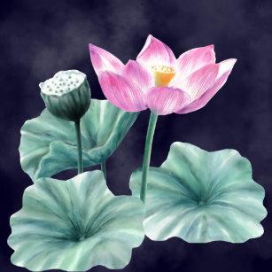 Lotus Flower Napkins Zazzlecomau