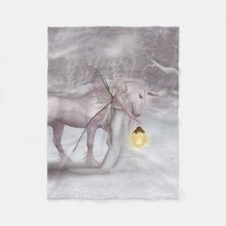 Fairylight 15 fleece blanket