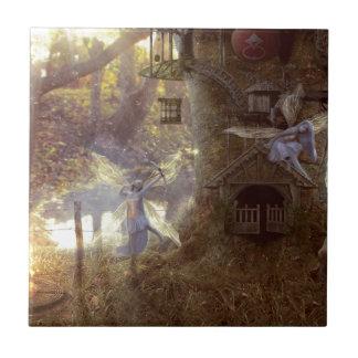 Fairys day in off tile