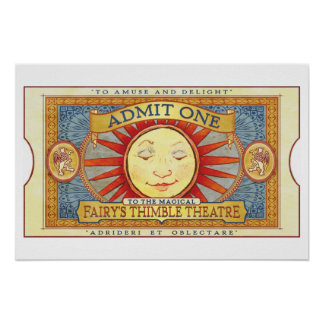 Fairy's Thimble Theatre Poster