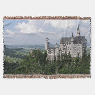 Fairytale Castle Throw Blanket