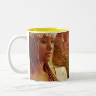 Fairytale Dreams Two-Tone Coffee Mug