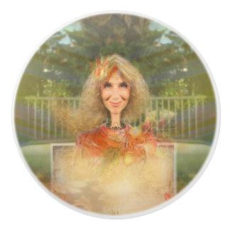 Fairytale Fall Ceramic Knob