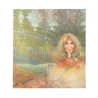 Fairytale Fall Notepad