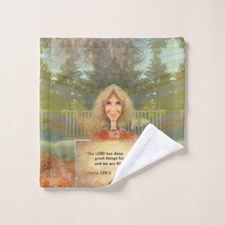Fairytale Fall Psalm 126 Filled With Joy Bath Towel Set