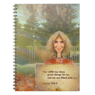 Fairytale Fall Psalm 126 Filled With Joy Notebook