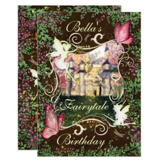 Fairytale Forest Enchanted Party Invitations