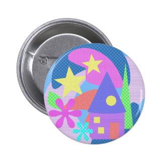 Fairytale House Button