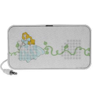 Fairytale Princess Travel Speaker