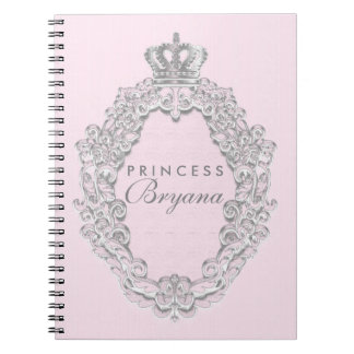 Fairytale Vintage Pink Princess Notebook Journal