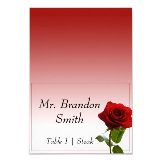 Fairytale Wedding Escort Card