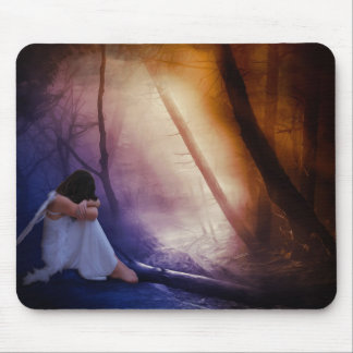 Fairytales and Snowflakes Mouse Pad