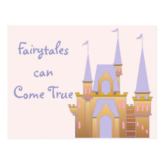 Fairytales Can Come True Postcard