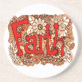 Faith 1 coaster
