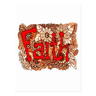 Faith 1 postcard