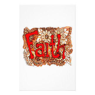 Faith 1 stationery