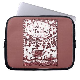 Faith 2 laptop sleeve